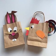 With my second graders, these two Easter baggage will likely be tinkered subsequent week. First, 🐔 Rooster and 🐰 Rabbit will beautify our classroom . and earlier than the Easter holidays, they are going Easter Crafts For Kids, Preschool Crafts, Diy For Kids, Diy And Crafts, Paper Crafts, Easter Holidays, Animal Crafts, Spring Crafts, Easter Baskets