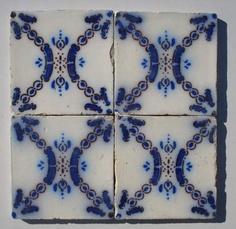 PAS CALAIS - Desvres Tiles - Venacular Aesthetic Style - 1890 - Ceramic Tiles