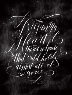 molly jacques calligraphy = beautiful!