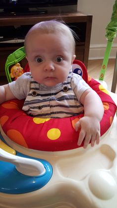 Stanley 2015 - In his New Jumparoo bought by Nanna Julie
