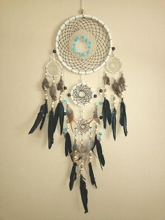 Huge handmade Native American style by hellothereknitty on Etsy,