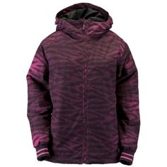 CROWN INS JACKET LADIES 23W-FADEZBRA-S by Ride. $199.95