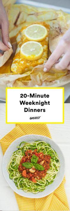 Minimal effort that maximizes taste. #greatist https://greatist.com/eat/quick-easy-dinner-ideas-made-in-20-minutes