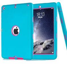 It's a blue and pink iPad Air 2 cover well...otterbox either one