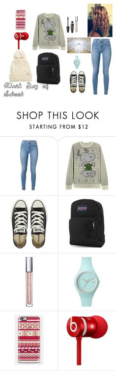 Danielle Styles by sage-sytles on Polyvore featuring Converse, JanSport, Ice-Watch, Rella, Casetify, Beats by Dr. Dre and Max Factor