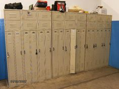 used 2 person locker Lockers For Sale, Used Lockers, Door Locker, Half Doors, Personal Storage, Locker Storage, Home Decor, Decoration Home, Room Decor