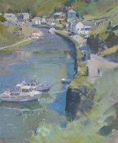 Boscastle Harbour. - David Curtis