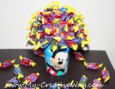 DIY Candy Bouquet Tutorial  I get 2 -3 emails per week requesting this tutorial, so I hope you enjoy :) Candy Bouquets make wonderful gi...