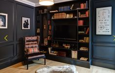cabinetry bookcase and mouldings