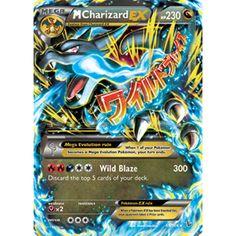a picture of  MEGA charizard EX | Mega Charizard Pokemon Card Ex