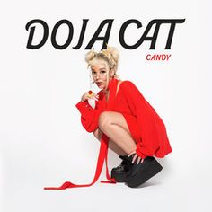 """Rising rapper-singer Doja Cat continues to 'push the envelope' on her latest, risqué and sensually-driven single, """"Candy. Cool Album Covers, Music Album Covers, Music Albums, Bedroom Wall Collage, Photo Wall Collage, Picture Wall, Extended Play, Doja Cat, Cats"""