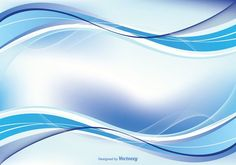 Abstract Blue Swirl Background Illustration