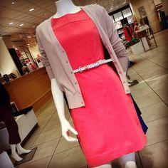 Classy pink dress from Ann Taylor LOFT!