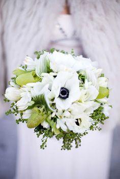 10 bouquets de mariée d'hiver