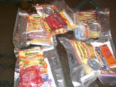 DIY MREs - Learn to create these simple meals ready to eat to use in case of emergency, for camping, or on long trips.