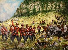 The Last Stand of Capt Younghusband and C Company at the Battle of Isandlwana