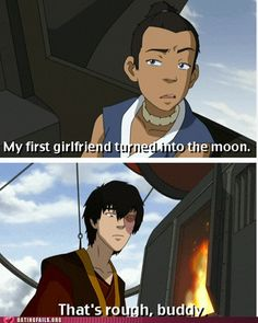 Sokka and Zuko's little field trip may have been my favorite thing ever.