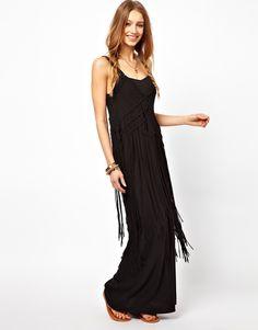 Fringed Maxi Dress -Ralph Lauren Denim & Supply