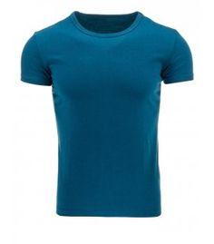 Pánske tričko morskej farby