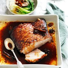 Discover How to cook Chinese Meat Asian Pork Belly Recipes, Pork Recipes, Asian Recipes, Cooking Recipes, Chinese Recipes, Chinese Cooking Wine, Chinese Food, Pork Belly Roast, Pork Ham
