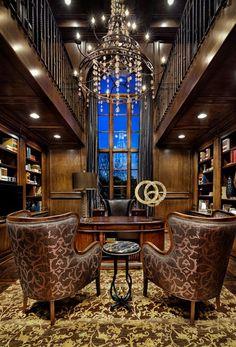 A gentleman's luxury office