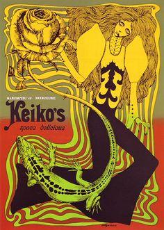 Poster:Keiko's at Marubutsu Department Store, 1967 by Aquirax Uno --