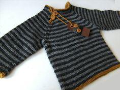 Ravelry: Latte Baby Sweater pattern by Liselotte Weller