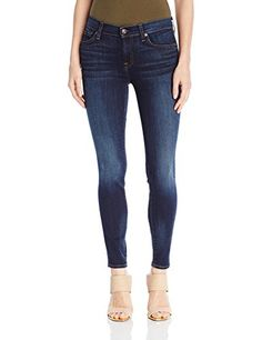Prime Day Deal (52% off) 7 For All Mankind Women's The Ankle Skinny with Tonal Squiggle In Heritage Night