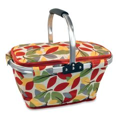 Harvest Leaf Insulated Market Tote