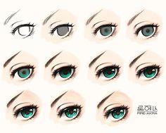 Eye Tutorial by Fire-Akra