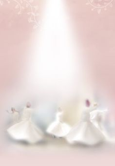 I never understood the dances of the Dervish, the sufism, until I knew Rumi through his wisdom, peaceful heart & mind . Love Comes Softly, Whirling Dervish, Scrapbooking, Soft Colors, Dusty Rose, My Favorite Color, Illustrations, Ethereal, Pink White