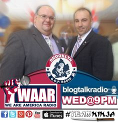 Brooklyn GOP Radio is now on WAAR!  We Are America Radio founded and operated by Wayne Dupree!