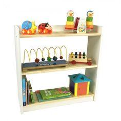 A estante com 3 prateleiras é ideal para qualquer ambiente! Perfeita para armazenar livros, CDs (super vintage! hehehe) e objetos decorativos! Organize-se! Crie um espaço super divertido com ela! Dica: essa é uma opção que as crianças adoram! Venha dar uma espiadinha na nossa Loja Tadah Design! <3