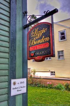 """Stay @ The Lizzie Borden House. Or any other """"Haunted"""" Bed & Breakfast or Inn - in New England. Wanted to do this for a long time and have a couple of books on Haunted locations in MA / NE!"""