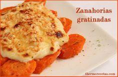 Zanahorias gratinadas - http://www.thermorecetas.com/2014/01/19/zanahorias-gratinadas/