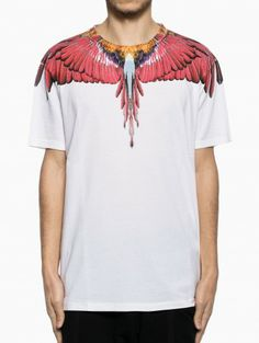 Alas t-shirt from the S/S2014 Marcelo Burlon County of Milan collection in white.