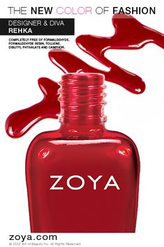 Zoya Nail Polish in Rekha from the NYFW 2012 Designer Collection www.zoya.com/content/38/item/Zoya/Zoya-Nail-Polish-Rekha-ZP626.html?O=PN121001MO13235
