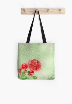 Pink peonies vintage flower design by Martist86