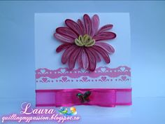 quilling my passion: small pink card