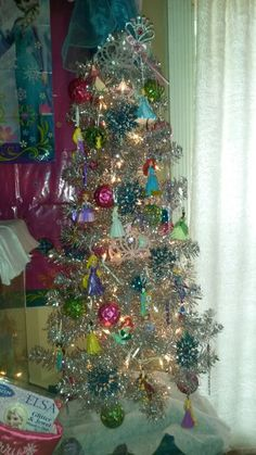Disney Princess theme tree  2014....old and new princesses