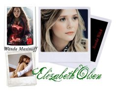 """""""Elizabeth Olsen 3"""" by wannabefamous212 ❤ liked on Polyvore featuring Olsen and Polaroid"""
