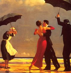 Jack Vettriano Paintings, my parents have a whole series of these prints. I love them all, would totally want to put all the different angles in a room to showcase them