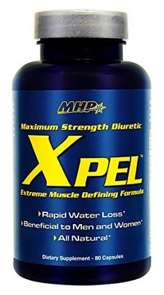 MHP Xpel Maximum Strength Diuretic (240 Capsules) >>> New and awesome product awaits you, Read it now  : Weight loss Diuretics