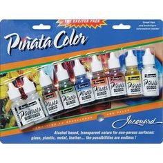 Jacquard Products Pinata Color Exciter Ink Pack, Multicolors:Amazon:Arts, Crafts & Sewing