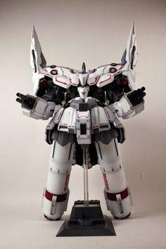 "HGUC 1/144 NZ-999 Neo Zeong ""White scheme"" Custom Build - Gundam Kits Collection News and Reviews"