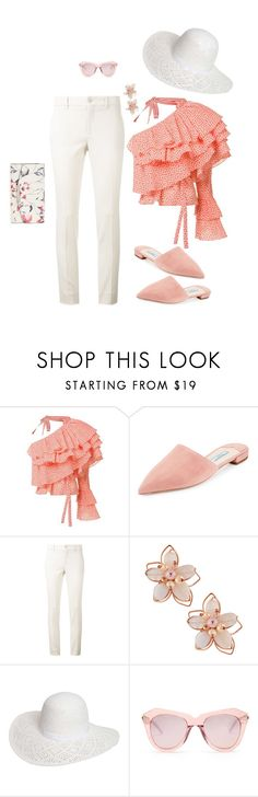 """Ole!"" by toots2271 ❤ liked on Polyvore featuring Rosie Assoulin, Prada, Gucci, NAKAMOL, Dorothy Perkins, Karen Walker and Ivanka Trump"
