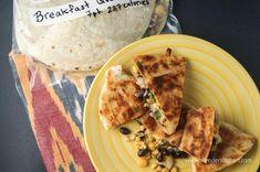 Frozen Breakfast Quesadillas