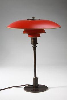 Table lamp, PH 3.5/2. Designed by Poul Henningsen for Louis Poulsen, Denmark. 1926.