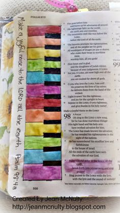 My Life As Art: More Bible Journaling
