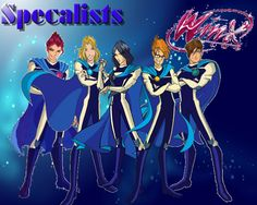 Winx club (We are the SPEACIALIST)